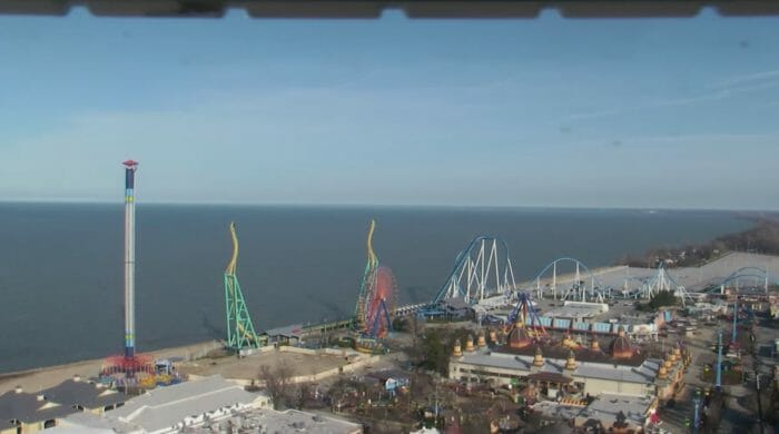 Cedar Point Installs Construction Fences, Hypes 150th Anniversary Celebration