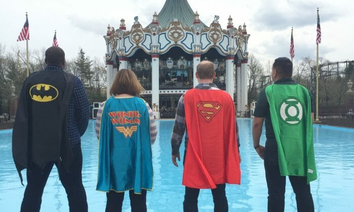 Six Flags Great America Opening This Weekend with a Super Hero Events