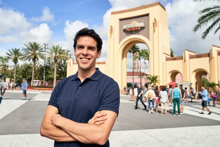 Brazilian Soccer Icon Kaká Stars in new Universal Parks & Resorts TV Commercial