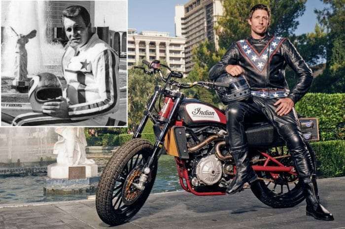 Travis Pastrana Recreates Evel Knievel's Motorcycle Jumps Live in Las Vegas