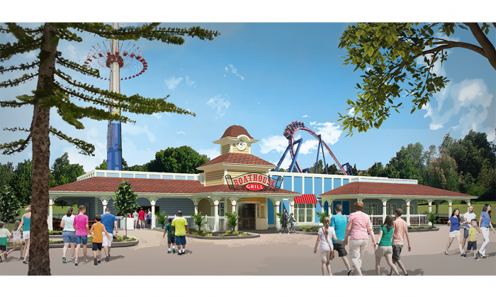 Worlds of Fun Adding Boathouse Grill In 2019