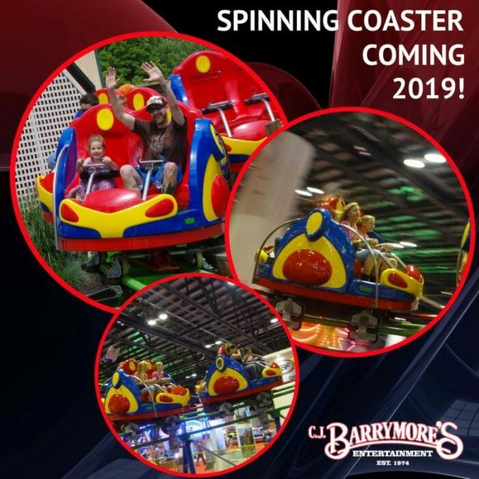 CJ Barrymore's Expanding With 3 New Rides In 2019