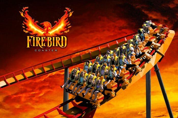 Firebird Soars into Six Flags America in 2019