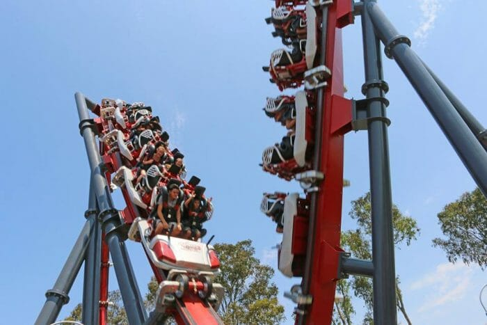 World's First Skywarp Opens At Six Flags Discovery Kingdom