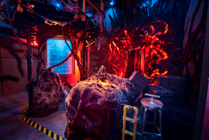 "Universal Studios Reveals First Look Inside All-New ""Stranger Things"" Haunted House"