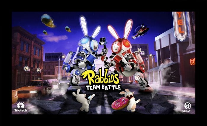 Triotech And Ubisoft Partner For New Rabbids Team Battle Interactive Attraction