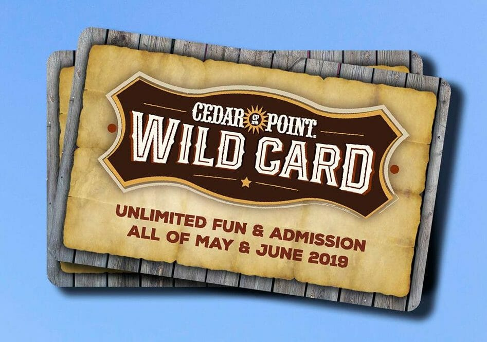 Cedar Point Introduces New Wild Card Package