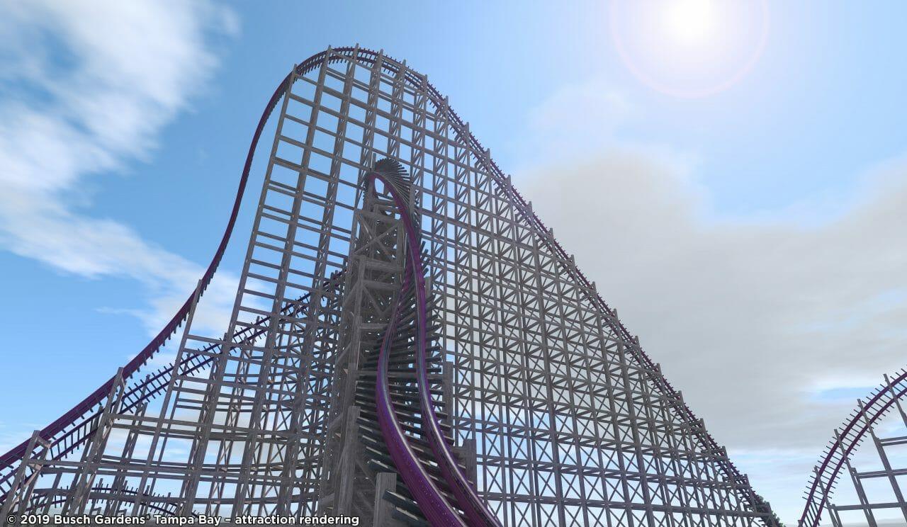 Record Breaking Hybrid Coaster Replacing Gwazi At Busch Gardens Tampa