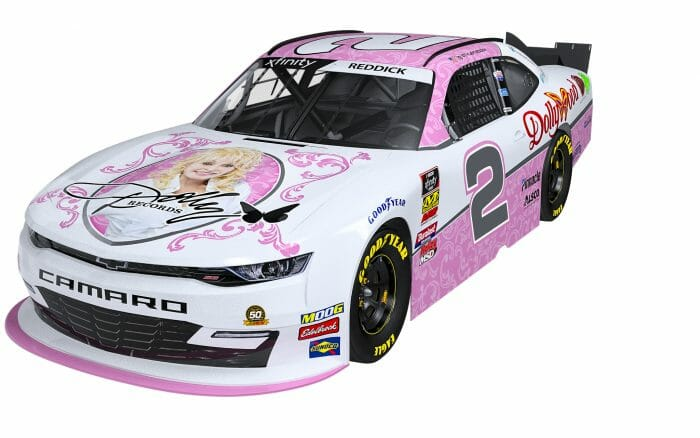 Dolly Parton and Dollywood Sponsor Richard Childress Racing's NASCAR Xfinity Series Team