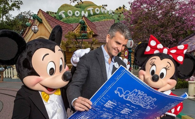 Mickey and Minnie's Runaway Railway Attraction Announced For Disneyland