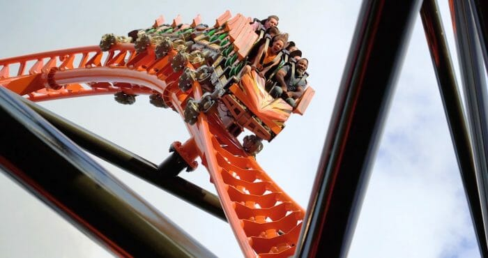 First Look At Tigris In Action! Florida's Tallest Launch Coaster Opening At Busch Gardens Tampa