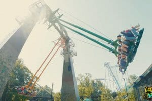 READY. SET. SWING! Finnegan's Flyer Sends Riders Over The Edge At Busch Gardens Williamsburg