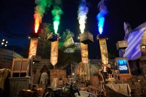 Harry Potter Film Stars Celebrate The Opening Of Hagrid's Magical Creatures Motorbike Adventure At Universal Orlando