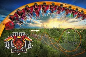 Six Flags Great Adventure To Debut Record Breaking Jersey Devil Coaster In 2020