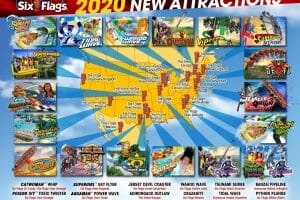 Six Flags Announces New Attractions For 2020