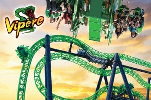 Six Flags La Ronde to Open Vipère, Canada's First 4D Coaster