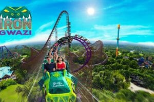 Record Breaking Iron Gwazi Hybrid Roller Coaster To Debut At Busch Gardens Tampa in 2020