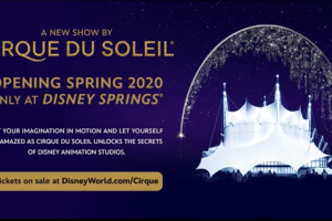 Sneak Peek of The New Cirque du Soleil Show Coming To Walt Disney World