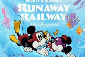Disney Celebrates Mickey's Birthday with Mickey and Minnie's Runaway Railway Poster Reveal