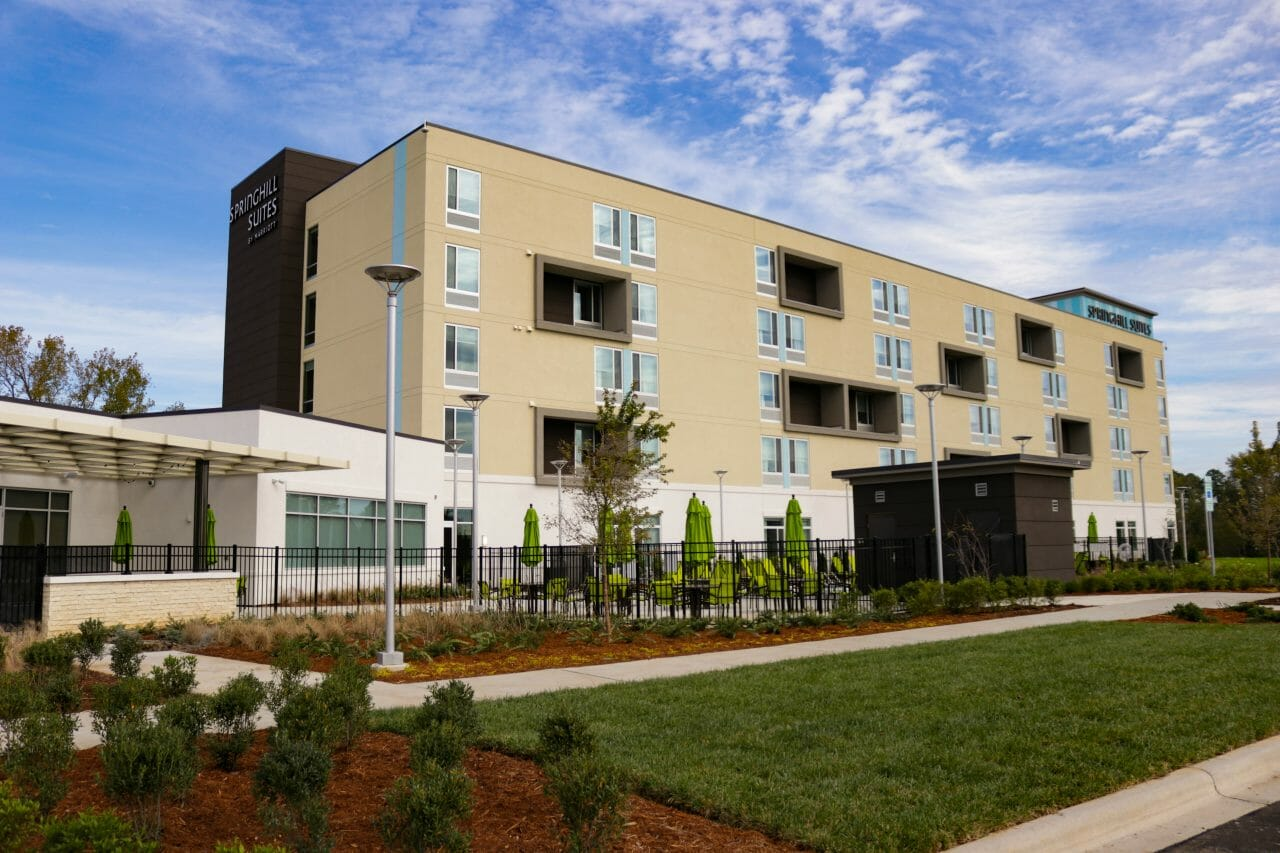 Carowinds Opens Doors To Onsite Springhill Suites Charlotte Hotel