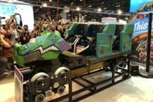 RMC and Busch Gardens Reveal Iron Gwazi Train