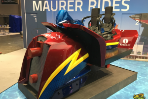 Maurer and Carnival Cruise Lines Reveal New Bolt Coaster Car