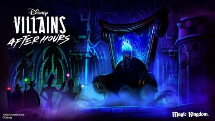 Disney Villains After Hours Events Returns in 2020