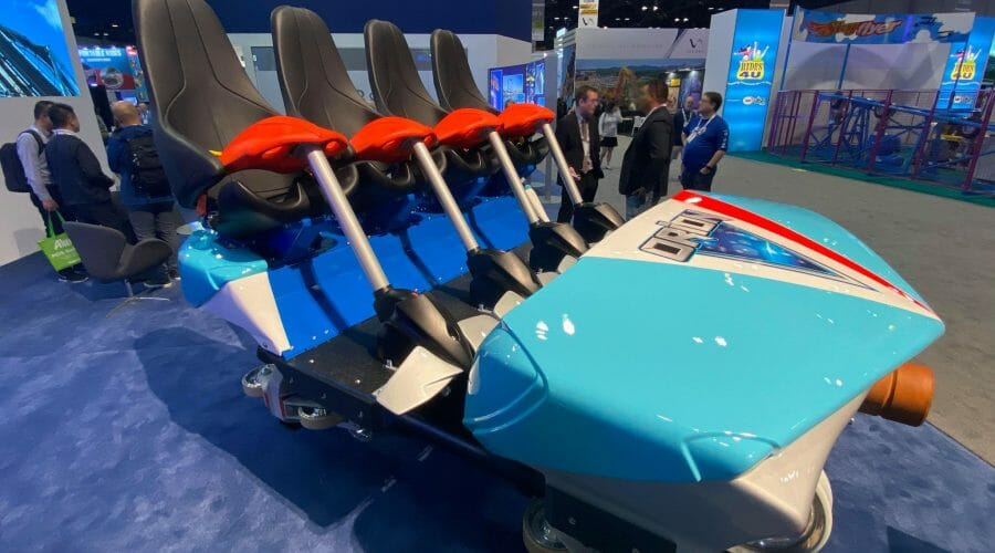 B&M and Kings Island Reveal Orion Roller Coaster Car