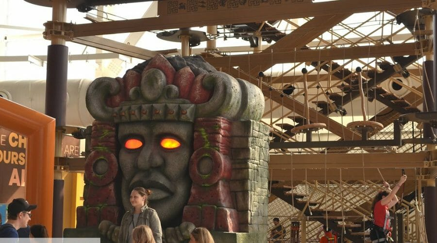Legends of The Hidden Temple Sky Trail Opens at Nickelodeon Universe Theme Park
