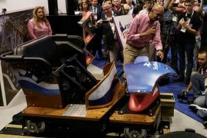 GCI and SeaWorld Reveal New Texas Stingray Coaster Train