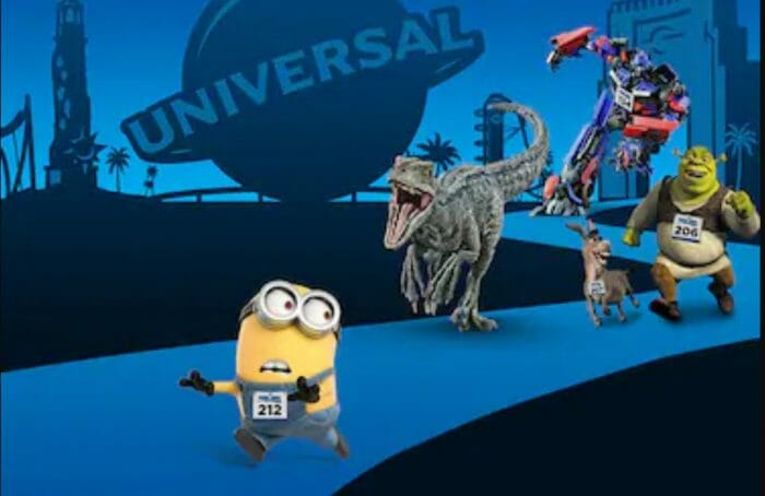 Characters Announced for Running Universal's Character Race at Universal Orlando Resort
