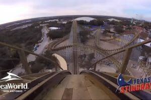 VIDEO: Front Seat Ride On The New Texas Stingray At SeaWorld San Antonio