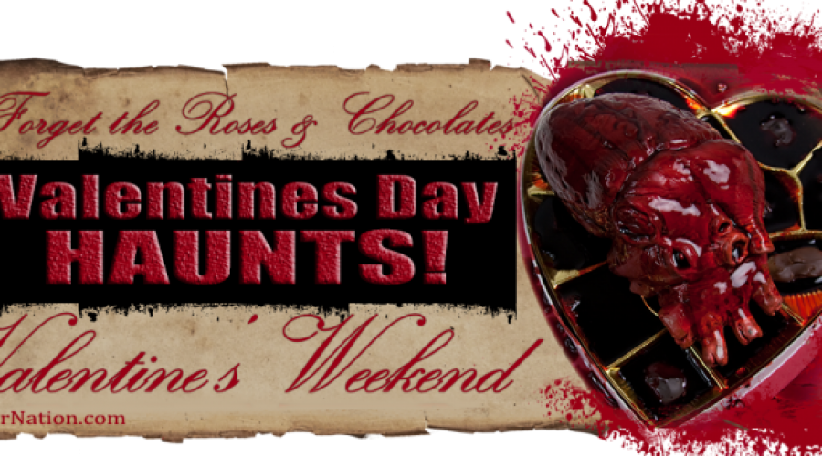 Haunted Houses Open For Valentines Day 2020