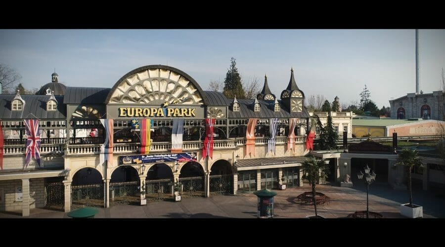 Europa Park From The Sky – Drone Aerial Video