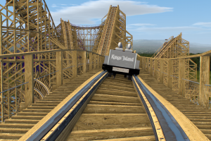 Long Lost Proposed Kings Island Wooden Coaster Rediscovered