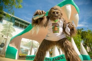 Learn About Social Distancing With Gatorland's Skunk Ape