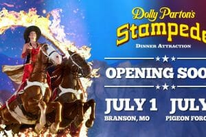 Dolly Parton's Stampede Branson And Piegon Forge Re-Opening In July