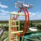 "Adventureland's New Dragon Slayer Coaster ""Unmasked"""