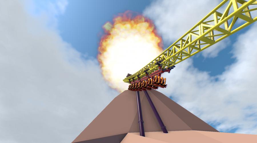 Original Designs of Volcano: The Blast Coaster Rediscovered