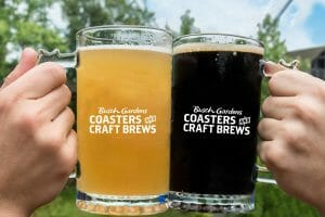 Busch Gardens Williamsburg Launches Coasters and Craft Brews