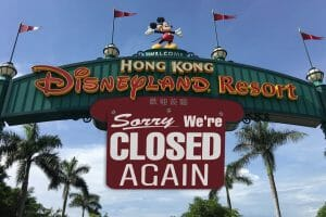 Hong Kong Disneyland Closing Once Again After Another COVID-19 Outbreak In China
