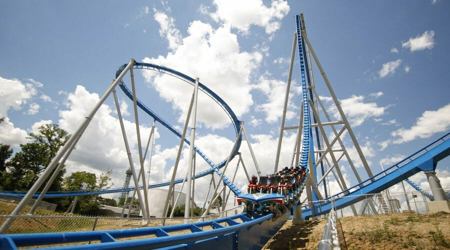 New Orion Roller Coaster Debuts At Kings Island