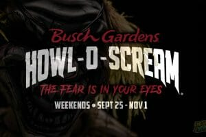 Howl O Scream Returns To Busch Gardens Tampa in 2020 With Modified Halloween Event