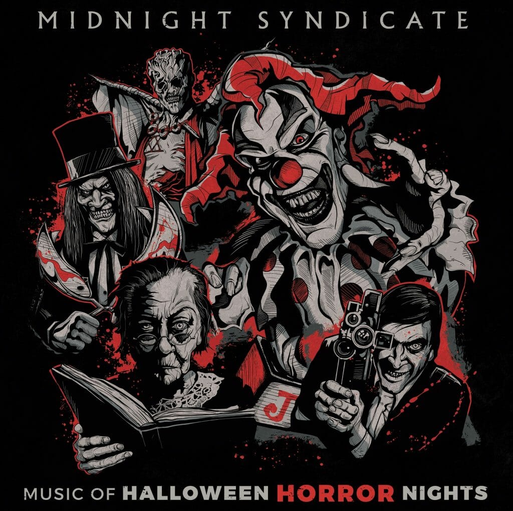 """Halloween 2020 Midnight Release Midnight Syndicate Teams With Universal To Release """"Music of"""