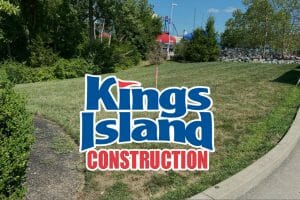 New Construction Markers Appear At Kings Island