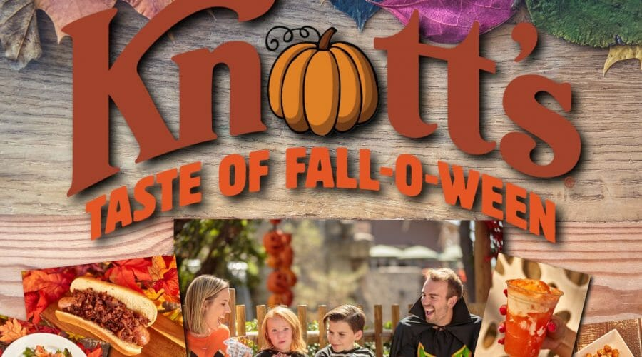 Knott's Berry Farm Introduces Taste of Fall-O-Ween Event