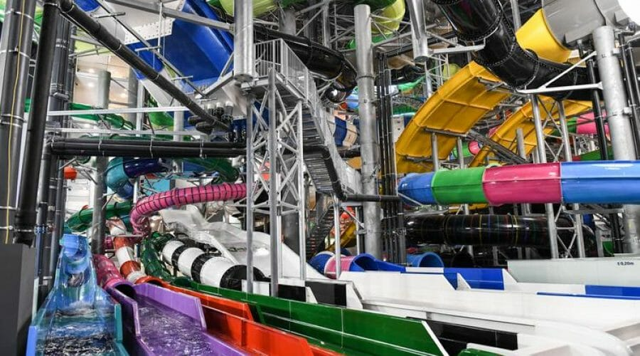 Suntago Waterworld Opens As Europe's Largest Indoor Water Park