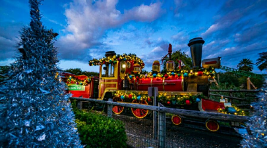 Modified Christmas Town Returns to Busch Gardens Tampa for 2020