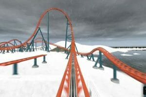 SeaWorld Orlando Launches POV For New Ice Breaker Coaster
