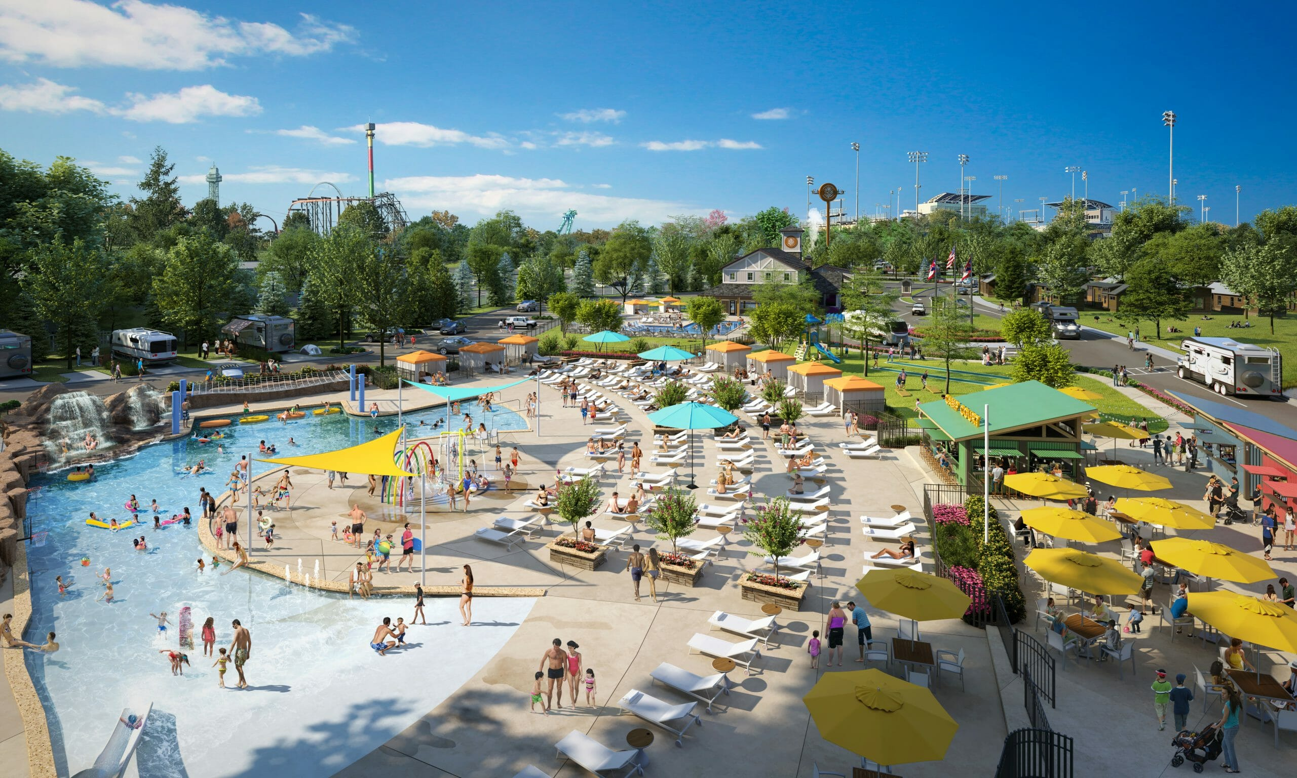 $27 Million Kings Island Camp Cedar Resort Opening Spring 2021